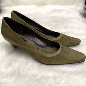 Naturalizer Olive Green Pumps 7 1/2M